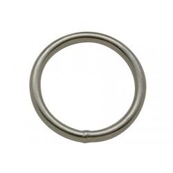 Anel redondo de aço inoxidável 6 x 50 mm