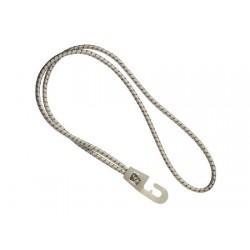 Cordão elástico de choque com gancho branco 55cm