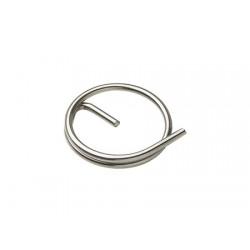 Anéis de segurança em aço inoxidável sem pino deslizante 11 x 1,0 mm