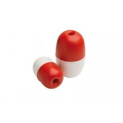 Bóias de marcação de duas cores com furo 75 x H130mm
