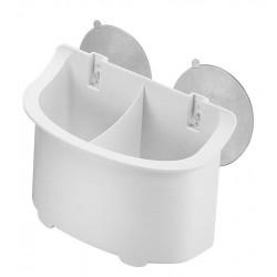 Caixa de armazenamento de plástico com copos de sucção 160 x 112 x 92mm