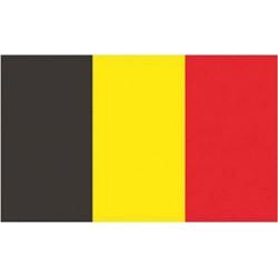 Bandeira Bélgica 100% poliéster 40 X 60 cm